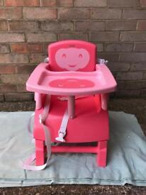 Toddler Portable Booster Chair