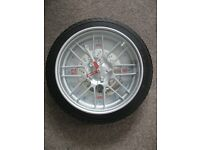 Car Tyre/Wheel Wall Clock