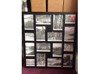 "Black Collage Photo Frame (19.5"" x 21.5"")"
