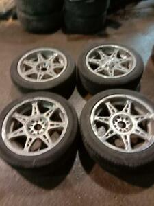 245/50R20 (USED WINTER AND SUMMER TIRES AVAILABLE)
