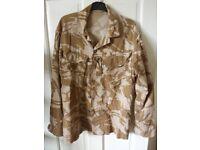 Combat Shirt/Jacket Tropical Desert DPM