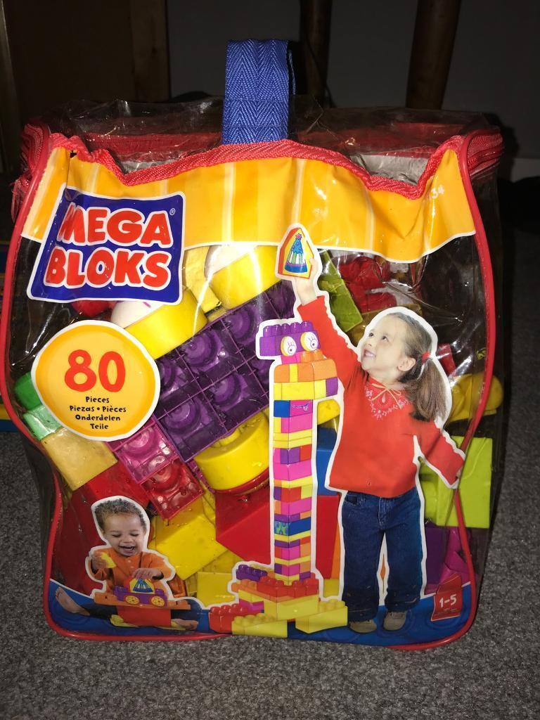 80 piece mega blocks