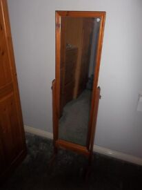 Marlborough Real Pine Free Standing Mirror.