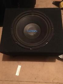 Orion 12inch Sub in box