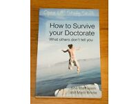 How to survive your doctorate (Open Up Study Skills) - very good condition