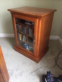 CD cabinet.