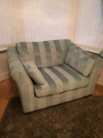 Next 3 seater & cuddle chair