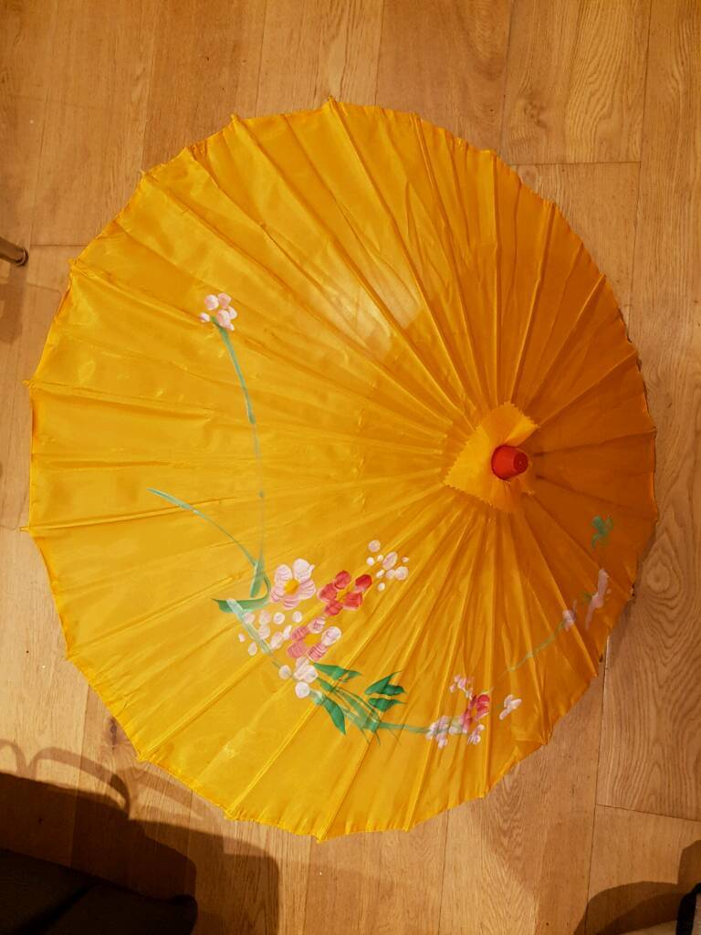 Yellow Parasol Umbrella (RRP £10)