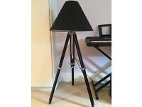 Black Tripod Floor Lamp from Made