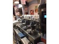 Fiorenzato 3 group espresso coffee machine