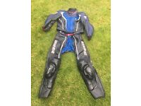 Dainese motorbike leathers two piece