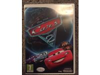Wii CARS 2 game for sale