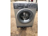 Hotpoint WDAL8640 8+6kg 1600 Spin Washer Dryer in Silver #4738