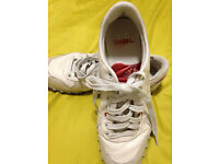 Women's Diesel Leather Shoes/Trainers Size 7 PRICE LOWERED