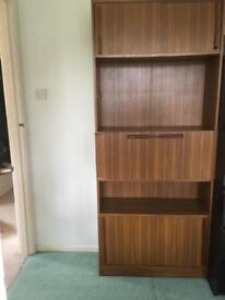 Brown storage unit