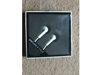 ( New ) Defunc Talk Plus Earphones White