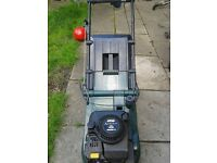 ATCO ADMIRAL 16s quantum 35 DRIVE PETROL LAWN MOWER WITH REAR DRIVE ROLLER AND GRASS BOX