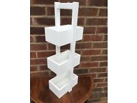 Job Lot Of 30 Bathroom Units - BRAND NEW - 3 Tier Storage Units - RRP £15 - White - Bargain