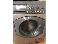 Silver hot point washing machine 6kg