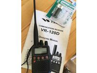 VR-120D Communications Receiver