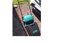 Bosch Lawnmower & Hedge Trimmer