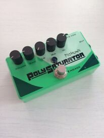 Pigtronix PolySaturator Distortion Guitar Pedal