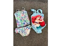 Girls 2-3 and 3-4 swim suits