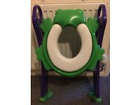Kids Toilet Seat Trainer with Padded Seat
