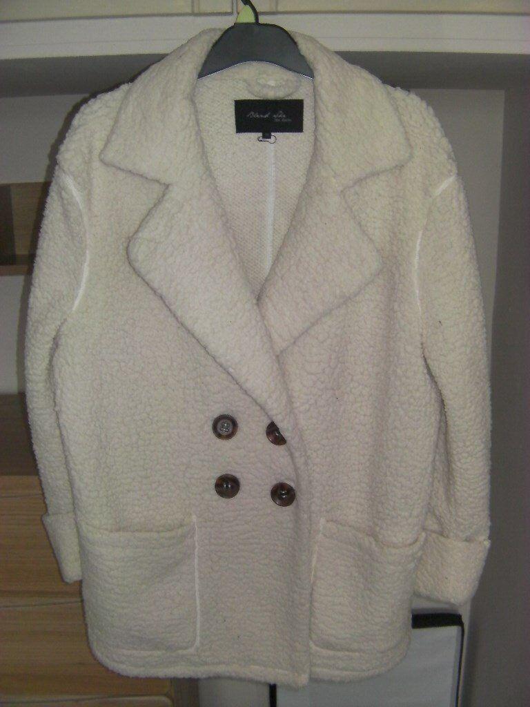 Ladies Fleece Coat Size Medium