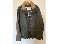 Fatface Broadsands mens wax jacket. Size X Large