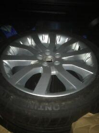 Range Rover sport, VW T5 alloy wheel