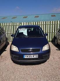 Ford Focus cmax only 86k 12 months mot 6 months warranty