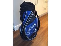 Lightweight Callaway Cart Bag / Strap / Hood - Good Condition.
