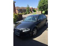 Audi A3 1.9 tdi full not low mileage excellent car, full service history, £4500