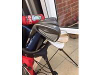 Left handed Cobra King Pro Combo 4-PW irons