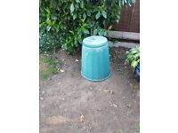 Compost Bin and Water Butt
