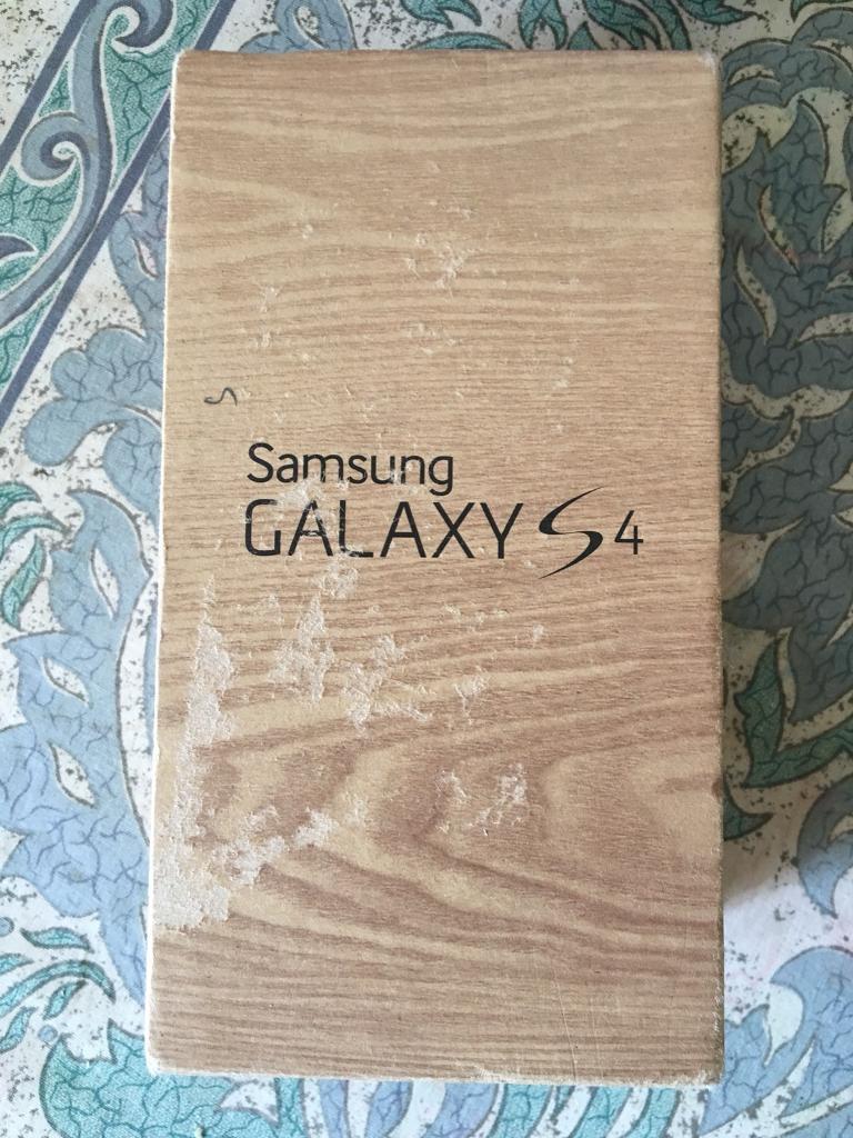 SAMSUNG GALAXY S4 16GB GREY UNLOCKED ALL NETWORK