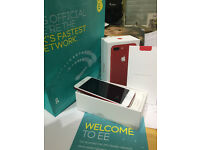 iPhone 7 Plus 128GB Limited eddition RED Mobile Phone brand new in the case on EE network