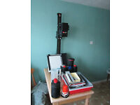 Complete photographic equipment for sale