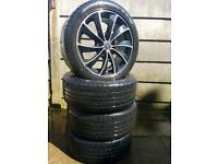 Wolfrace alloys with very good conditioned tyres 255/45R17