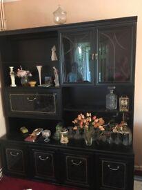 Large black cabinet