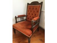 Matching two chairs and Chaise Longue