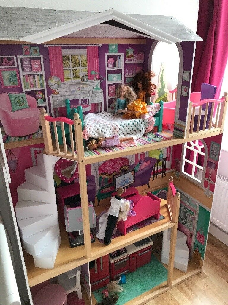 Giant Dolls House For Our Generation American Girl Dolls
