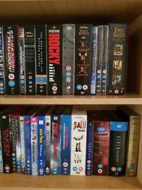 Dvd's with storage unit