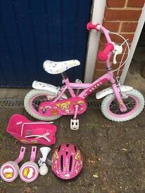"""Girls Apollo cupcake bike - 12"""""""