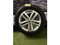 "19"" Genuine VW Cantera Amarok Alloy Wheels Alloys Highline"