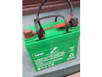 Lucas 34ah 36 hole golf trolley battery