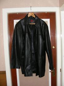 Men's XXL Leather Jacket.