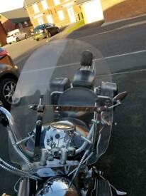 motorbike windscreen