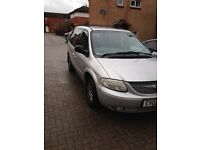 2002 CHRYSLER VOYAGER SILVER SPARES OR REPAIRS